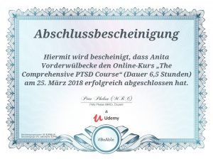 Comprehensive PTSD Zertifikat - Assistenzhundezentrum Sauerland